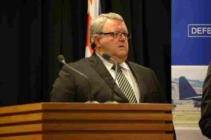 Defence Minister Gerry Brownlee