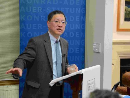 Professor Dingli Shen, Fudan University