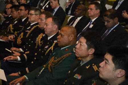 Foreign Defence attaches based in Wellington