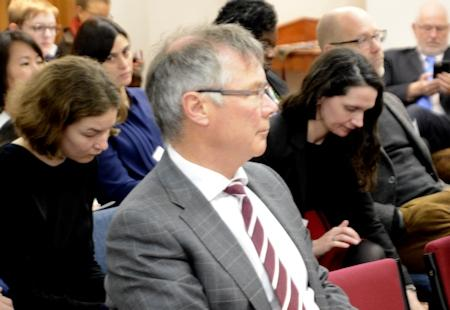 Trade Minister David Parker at the Otago Foreign Policy School