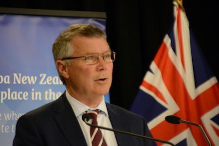 Environment Minister David Parker